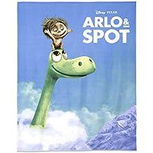 Arlo & Spot Forro Polar–Manta 130x 160cm 100% poliéster Disney/Pixar