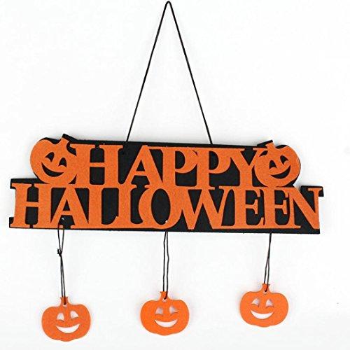 Zolimx Halloween Banner Garland Geist Hängedeko (Raum Geist Kostüm Kind)
