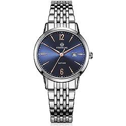 STARKING Women's BL0976SS17 Quartz Stainless Steel Watch with Sapphire Dial Window