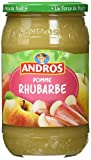 ANDROS Pomme Rhubarbe 750 g
