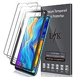 LK Verre Trempé pour Huawei P30 Lite [Lot de 3], Anti Rayures Film Protection écran [Haute Définition - sans Bulles][Facile à Kit d'installation] Transparent Film de Protection d'écran