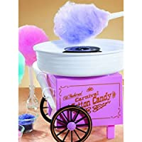 Hard & Sugar-Free Candy Cotton Candy Maker, Cotton Candy Floss Maker by ZeeTeck