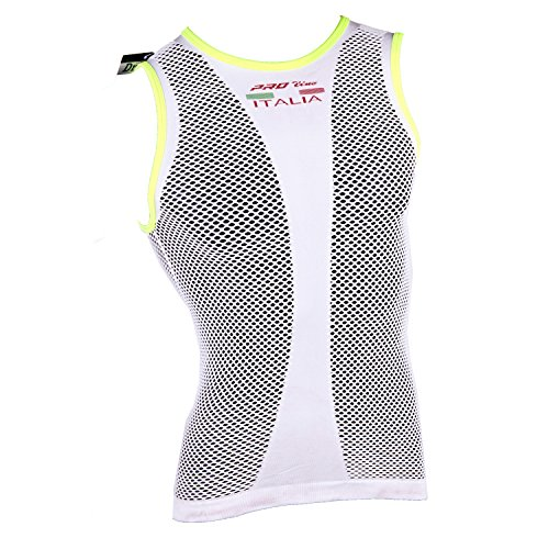 maglia-intima-rete-senza-manica-proline-bianco-bordi-giallo-fluo