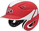 Rawlings Sporting Goods Senior Baseball R16Away Größe Helm, scharlachrot