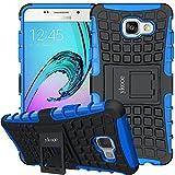 ykooe Funda Galaxy A5 2016, Silicona Carcasa Samsung A5 2016 Teléfono Híbrida de Doble Capa Funda con Soporte para Samsung Galaxy A5 (2016)