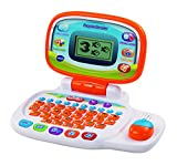 VTech - Pequeordenador, Ordenador infantil con más de 20 actividades de letras, números, animales, lógica y música (80-155422)