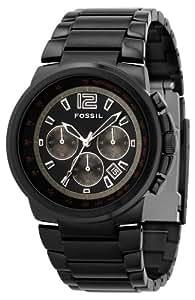Fossil FS4135 Gents Black IP Chronograph Watch