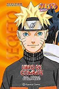Naruto Guía nº 04 Libro de combate par Masashi Kishimoto