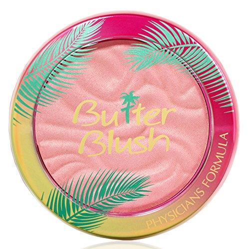 Physicians Formula Butter Rouge mit pflegender Murumuru Butter, Natural Glow, integrierter Spiegel und Spachtel-Applikator, 1 Stk, 60g -