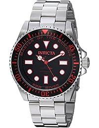 Invicta Analog Black Dial Men's Watch - 20121