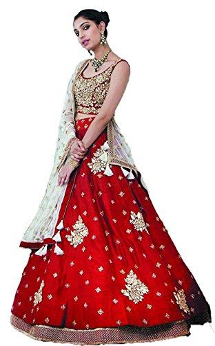 Amit Fashions diseñador indio Lehenga Choli para las mujeres