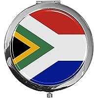 """metALUm - Extragroße Pillendose in runder Form""""Flagge Südafrika"""" preisvergleich bei billige-tabletten.eu"""