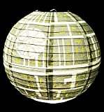 from Groovy Groovy Star Wars Death Star Paper Light Shade Lamp Shade Official Star Wars Merchandise Model Gr90424
