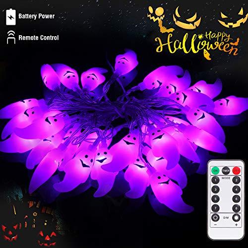 lichterkette lunsy 30LED halloween lichterketter mit Fernbedienung