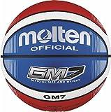 Molten Herren BGMX7-C Ball, Blau/Rot/Weiß, 7