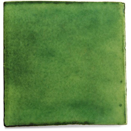 Carrelage en céramique mexicaine - 10,5 cm - fait à la main et éthiquement négocié par Tumia LAC – Lot de 10