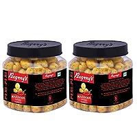 Bagrry's Makhana, Peri-Peri Flavour 100 GM Jar Pack of 2