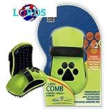 Furminator CURRY COMB Striglia profess. da toelettatura x cani pelo corto+medio