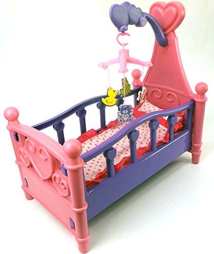 Brigamo 529 - Puppenbett mit Mobile und Bettzeug thumbnail