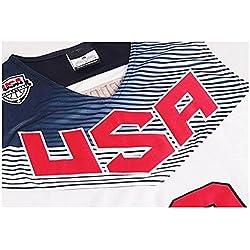 Kyrie Irving #10 2014 del mundial de baloncesto EE.UU, Dream Team blanco americano camisetas talla M 48