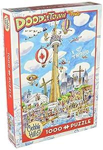 Cobblehill 53502 - Puzzle de 1000 Piezas, diseño de Toronto