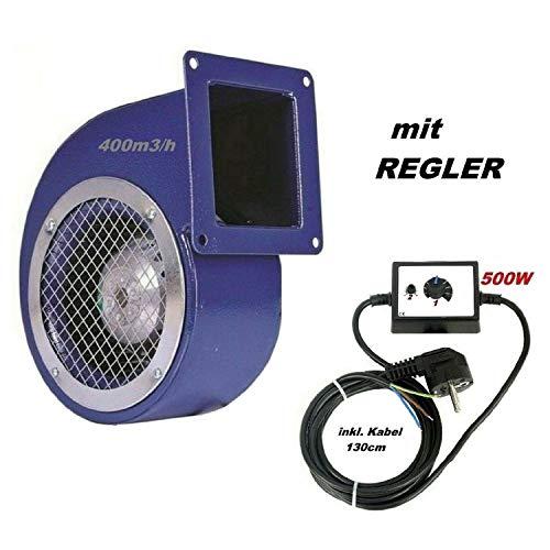 Ventilatore radiale industriale, SG160ER con regolatore di velocità da 500 Watt , centrifugo, ventola radiale