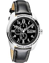 D&G Dolce&Gabbana Herren-Armbanduhr Analog Quarz Leder DW0639