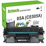 Aztech Kompatibel für Toner HP CE505A 05A (HP CE505X 05X) Toner für HP Laserjet P2035 2055 P2055DN HP 2055 DN HP Laserjet P2055D P2050 P2055X HP P2035 HP P2055DN HP P2050 P2030