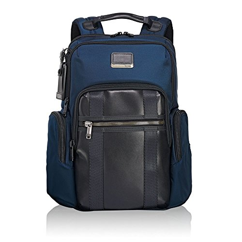 "Tumi Alpha Bravo - Nellis Laptop Backpack 15"" Zaino Casual, 40 cm, 22.28 liters, Blu (Navy)"