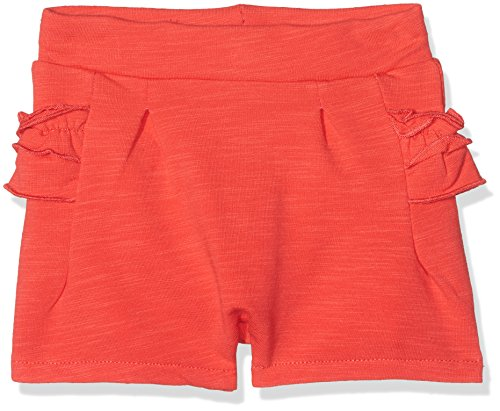 NAME IT Baby-Mädchen Shorts NBFGAMA Light SWE UNB, Rot (Hibiscus), 74