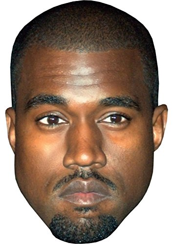 Budget Celebrity Face Masks KANYE WEST - BUDGET RANGE - READY TO WEAR CELEBRITY FACE MASK