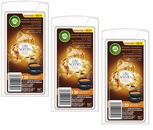 air-wick-recharge-de-cire-parfumee-life-scents-souvenirs-gourmands-lot-de-3