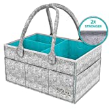 Werded Baby Diaper Caddy Organizer, Portable Large...