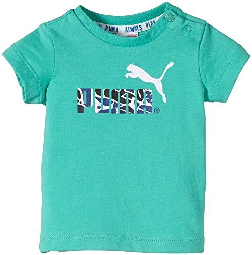 PUMA Baby T-Shirt ESS Infant Tee Pool Green, 104