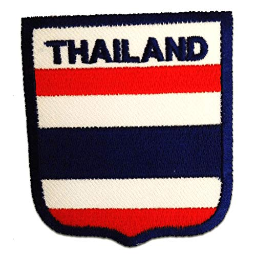 Parches - Tailandia bandera - azul - 6
