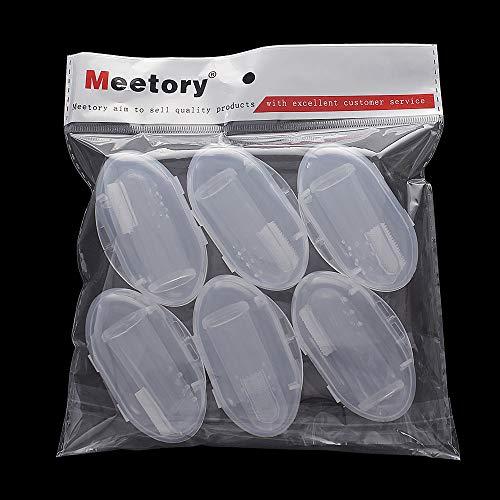 Winstory Finger-Zahnbürsten für Haustiere, weich, Latex, für die Zahnreinigung von Hunden oder Katzen, 3 Stück - 5