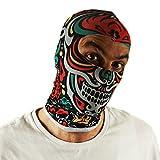 Ferocity Multifunktionen Gesichtsmaske Kapuzenmütze Balaclava Skimaske Gesichtschutz Maske Mexican...