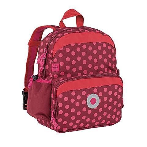 Lässig Mini sac à dos Dottie rouge -Sac à dos enfants – pour la maternelle ou en excursion
