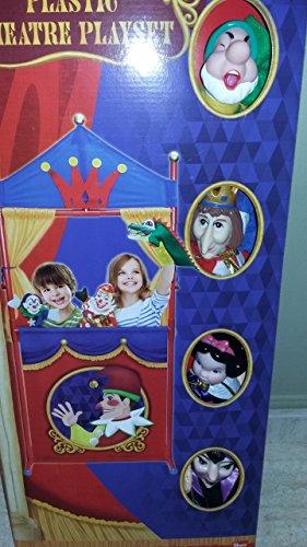 Teatro c/4 marionetas 1 blancanieves