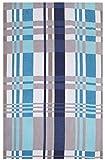 Betz XXL Badetuch Maxi Größe 100x200 cm Hawai Strandtuch Liegetuch Strandlaken 100% Bio Baumwolle Farbe Blau-Türkis