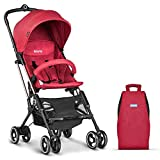 Besrey Stroller Lightweight Travel Buggy Foldable Baby Pushchair - Red