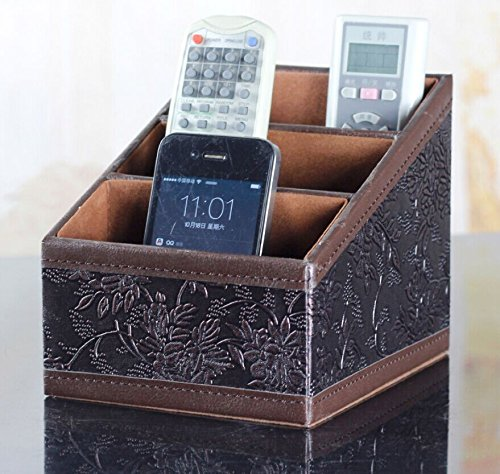 hensych-3-slot-pu-leather-desk-remote-controller-holder-organizer-home-sundries-storage-box-tv-guide