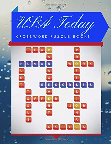 USA Today Crossword Puzzle Books: Wordsearch books, Find Word Puzzles for kids Word Search Puzzle Books, Improve Spelling, Vocabulary and   Memory Children's activity books.
