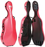 Bam France 1001S Classic Peony Red 4/4 Cello Case
