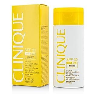 Clinique SPF 30 Mineral Sunscreen Lotion For Body locion de protección solar Cuerpo 125 ml 2 h – Lociones de protección solar (Cuerpo, 125 ml, 2 h, Piel sensible, Universal, Protección, Botella)