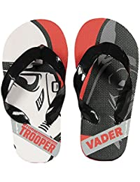 0261ff201838b9 Cerda Star Wars Flip Flop Zehentreter mit Tollem Stormtrooper und Darth  Vader - Motiv