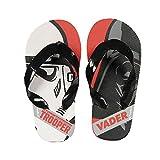 Star Wars Flip Flop Zehentreter mit tollem Stormtrooper und Darth Vader - Motiv