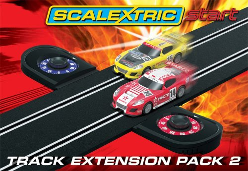 Scalextric Track (Scalextric - C8528 - Scalextric Start Track Extension Pack 2 (Lapcounter))