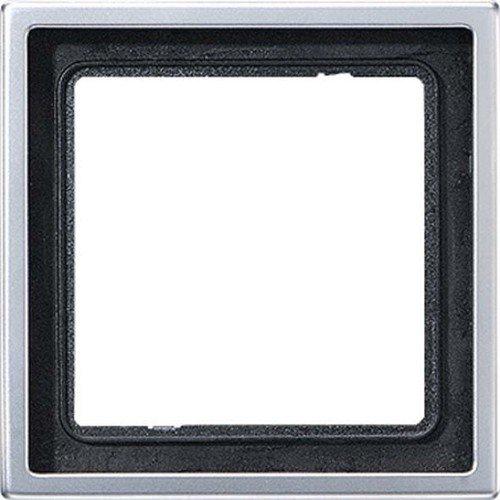 Jung Rahmen AL2981 1fach Aluminium - Serie Aluminium-rahmen