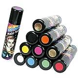Hair-Color-Spray-100ml-Fasching-Karneval-Halloween-Verkleiden-Haarspray-Spray